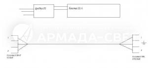 Схема электрических соединений FLAME DR UNI LED