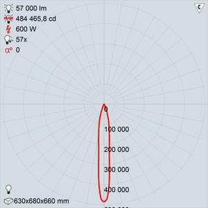 GALAD Эверест LED-600 (Spot)