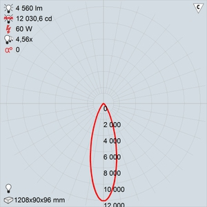 GALAD Персей LED-60-Medium W3000