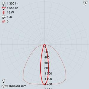GALAD Альтаир LED-15-Ellipse W3000 900