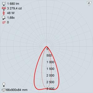 GALAD Альтаир LED-48-Ellipse RGBW