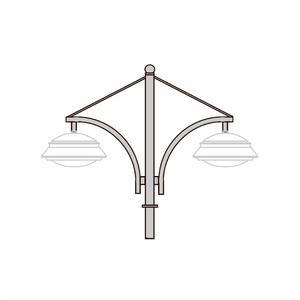 Кронштейны для установки подвесных светильников