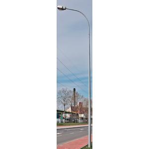 Cassiopee PS Стальные восьмигранные осветительные опоры с одинарным кронштейном с круглым сечением