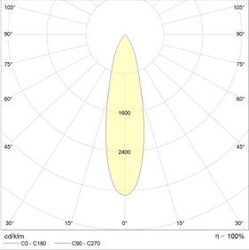 LEON-T LED 30 W D25 4000K